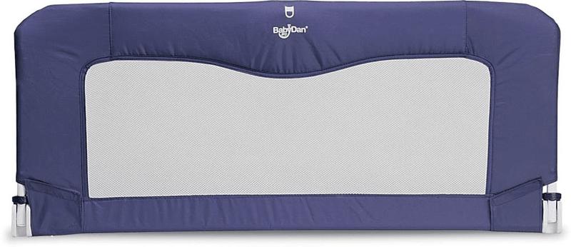 BabyDan Cestovní zábrana k posteli s taškou NEW, modrá