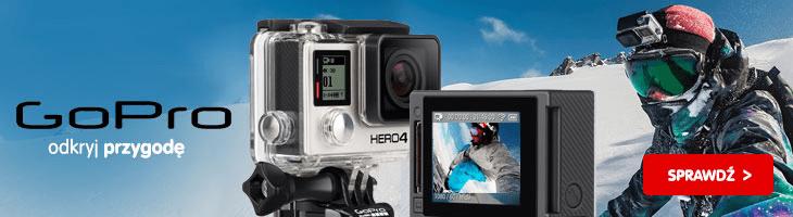 Kamery outdoorowe - GoPro