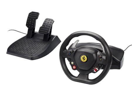 Thrustmaster Sada volantu a pedálů Ferrari 458 Italia pro Xbox 360 / PC - II. jakost