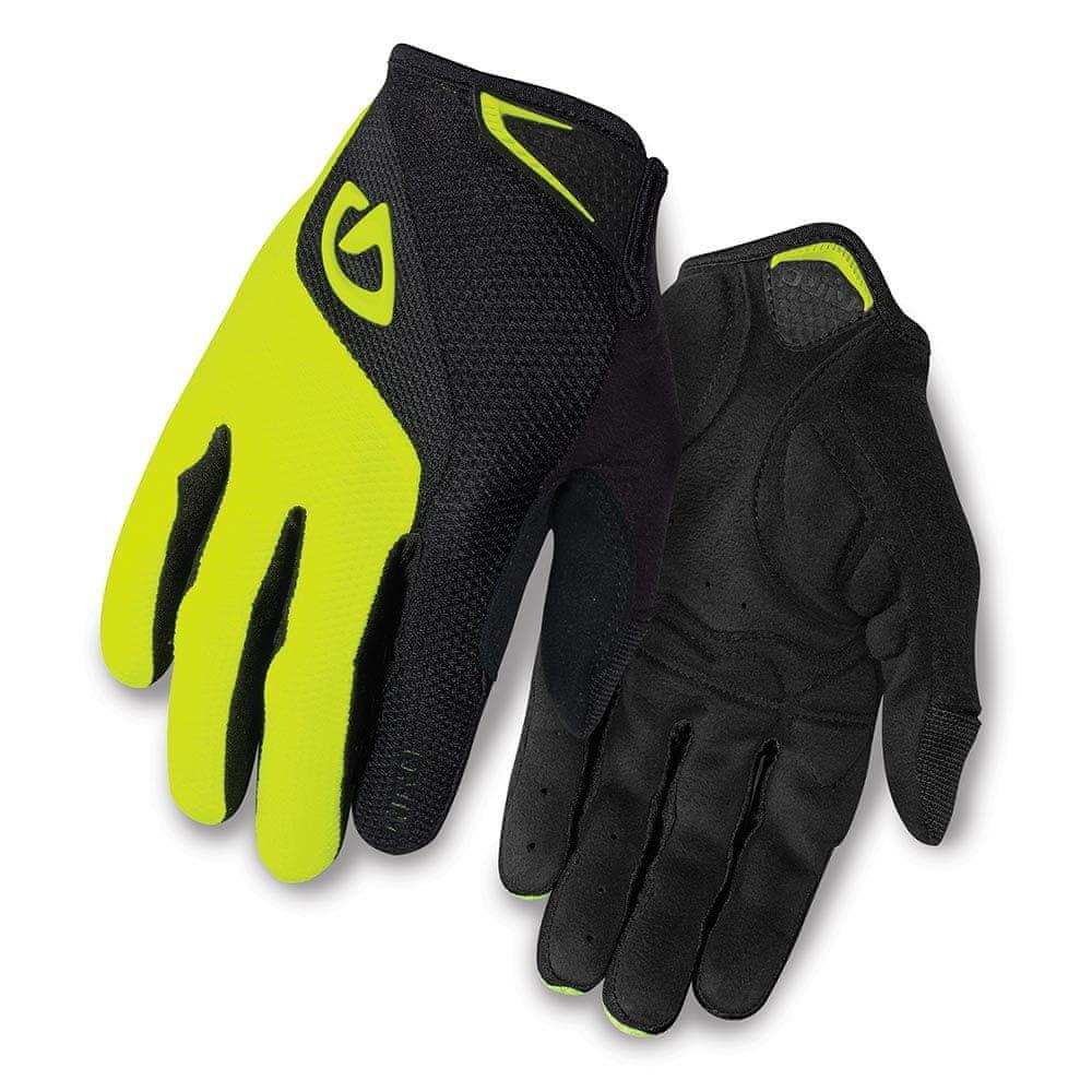 Giro Bravo LF Black/Highlight Yellow M