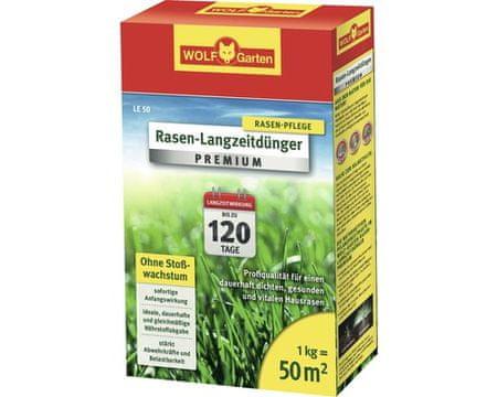 Wolf - Garten gnojilo za travo z dolgotrajnim učinkom LE50