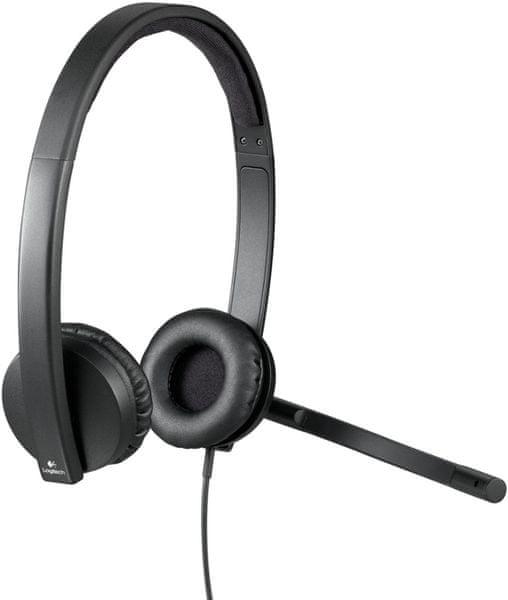 Logitech USB Headset H570e Stereo (981-000575)