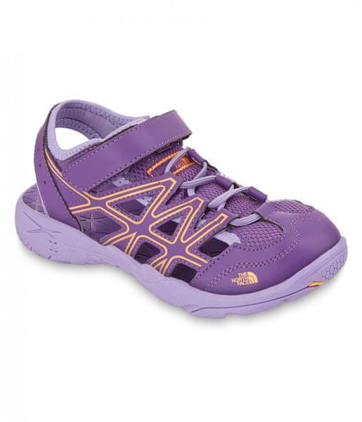 The North Face G Hedgehog Sandal Imperial Purple/Vitamin C Orange 35