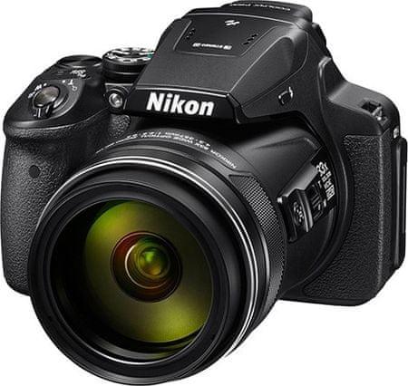 Nikon digitalni fotoaparat Coolpix P900, črn