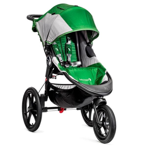 Baby Jogger Summit X3, Green/Gray