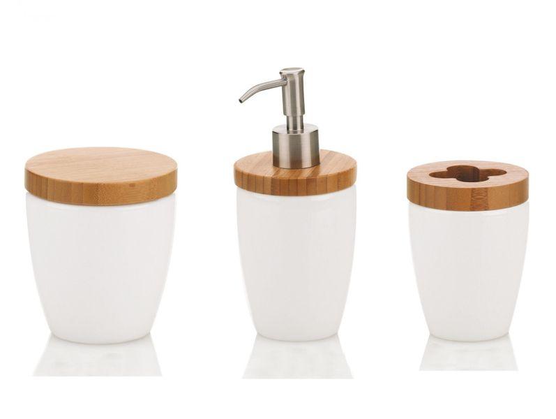 Kela Set koupelnových doplňků NATURA