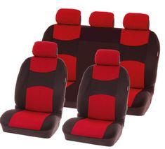 CarPoint prevleke za sedeže Chicago Red, 9 kosov