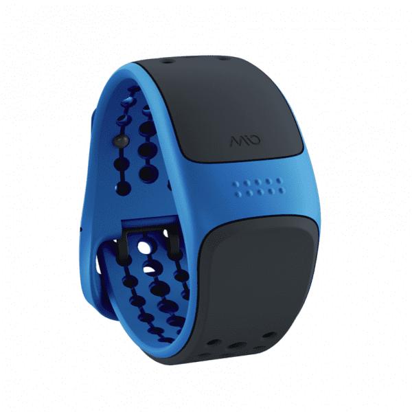 Mio Velo, senzor srdečního tepu pro cyklistiku, modrý