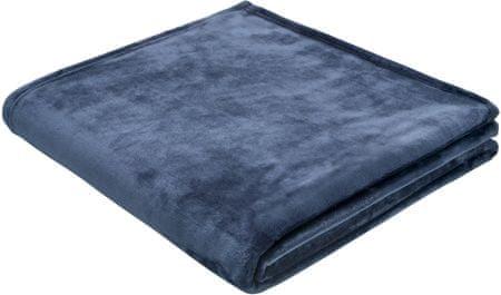 Biederlack deka Arctic Shine, 150 x 200 cm, plava