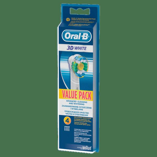 Oral-B EB 18-4 3D White Luxe náhradní hlavice