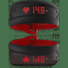 Mio Fuse, senzor srdečního tepu, dlouhý pásek, červený