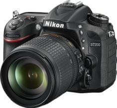 Nikon D7200 + 18-105  mm