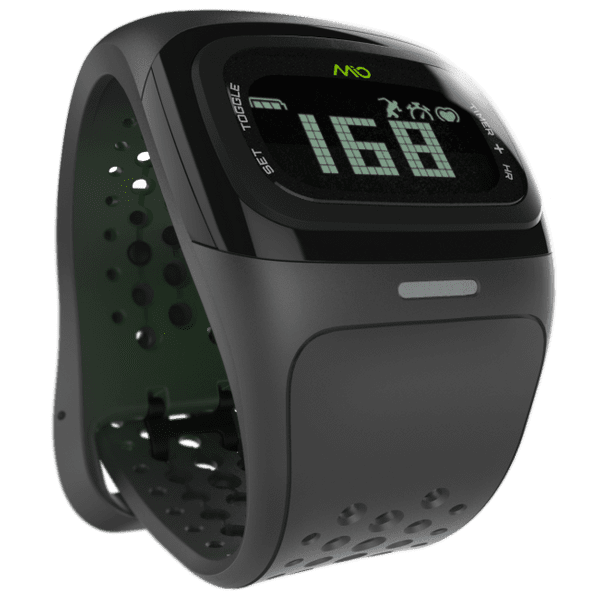Mio Alpha 2, senzor srdečního tepu, černé