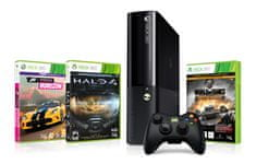 Microsoft XBOX 360 4GB Stingray + Halo 4 GOTY + Forza Horizon + World of Tanks