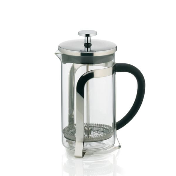 Kela Konvička na čaj a kávu VENECIA nerez French Press 600 ml KL-10851