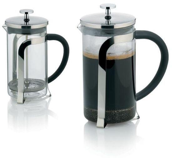 Kela Konvička na čaj a kávu VENECIA nerez French Press 600 ml KL-10851