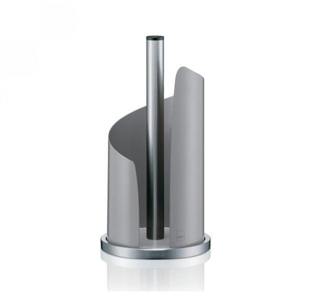Kela Držák na papírové utěrky STELLA kovový šedá
