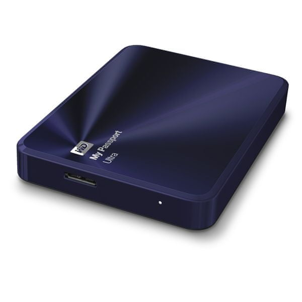 "WD My Passport Ultra Metal Edition 2TB / Externí / USB 3.0 / 2,5"" / Blue-Black (WDBEZW0020BBA-EESN)"