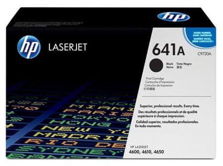 HP toner 641A, črn, 9.000 strani, (C9720A)