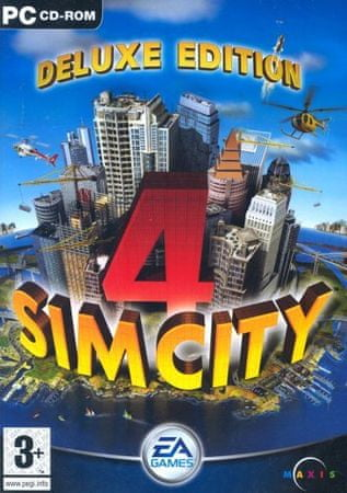 EA Games Simcity 4 Deluxe Edition (PC)