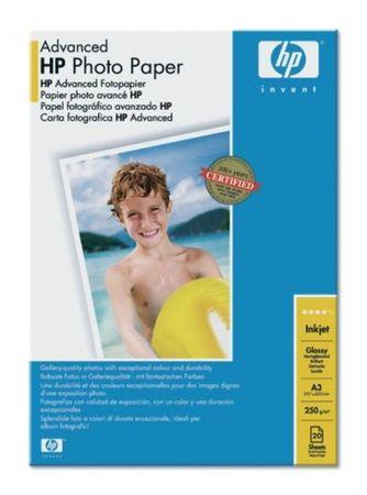 HP foto papir Advanced Glossy, A3 (Q8697A)