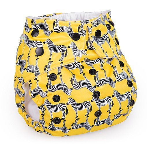 BabaBoo Plenkové kalhotky AIO Zebras