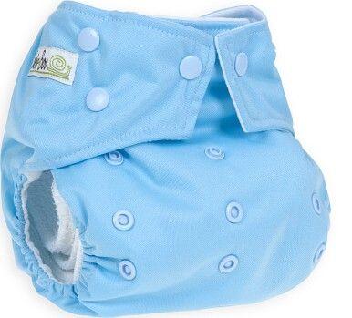 BabaBoo Plenkové kalhotky AIO Duckegg Blue