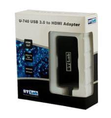 ST Lab pretvornik USB 3.0 - HDMI U-740