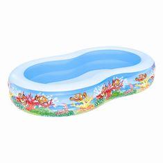 Bestway Nafukovací detský bazén oválny