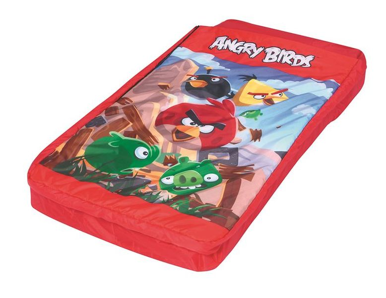 Bestway 2 in 1 Nafukovací lehátko se spacákem Angry Birds