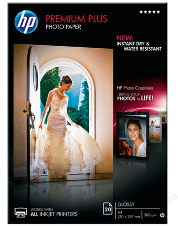 HP foto papir Premium Plus Glossy A4 (CR672A)