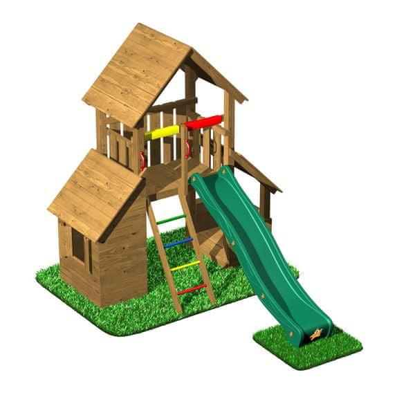 CUBS Honza 5 - věž s domečkem a obchůdkem