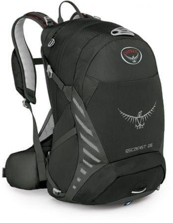 Osprey nahrbtnik Escapist 25 M/L, črn