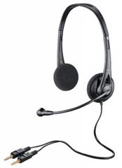Plantronics Audio 322 Headset, Fekete
