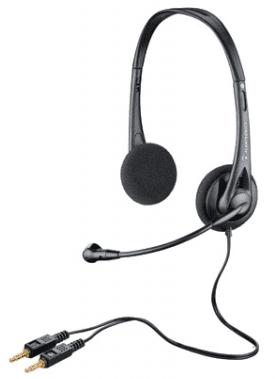 Plantronics Sluchátka s mikrofonem Audio 322, černá (38889-11)