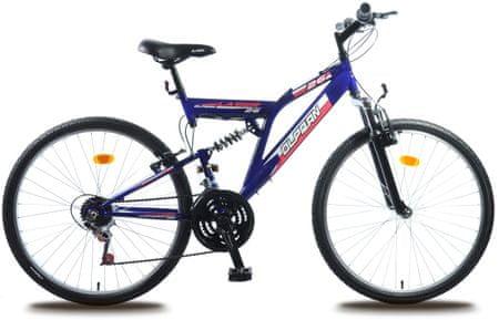 "Olpran rower górski Laser 26"" blue/black"