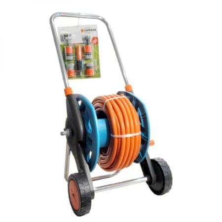 """Gardena wózek na wąż z wężem 1/2"""" i armaturą - 20m (2692-20)"""
