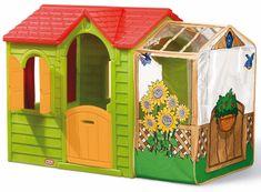 Little Tikes Záhradný domček s rozšírením - zelený