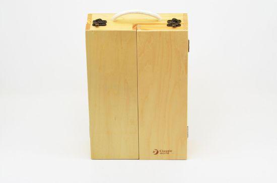 Teddies Náradie drevo 25 ks v drevenom kufríku