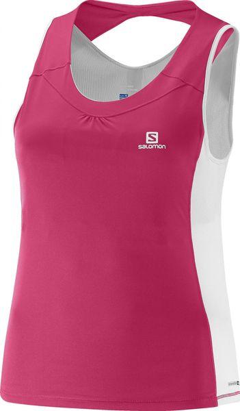 Salomon Agile Impact Tank W Hot Pink/White L