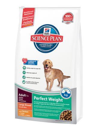 Hill's hrana za odrasle pse velikih pasem Perfect Weight, 12 kg
