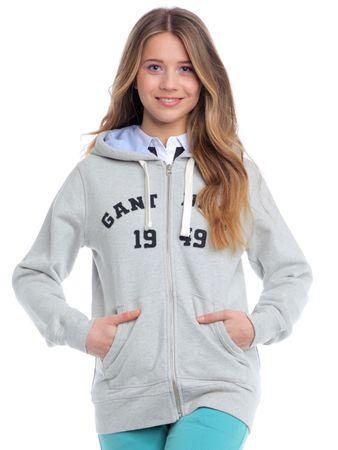 b708948bb21 Gant dámská mikina s kapucí XS šedá