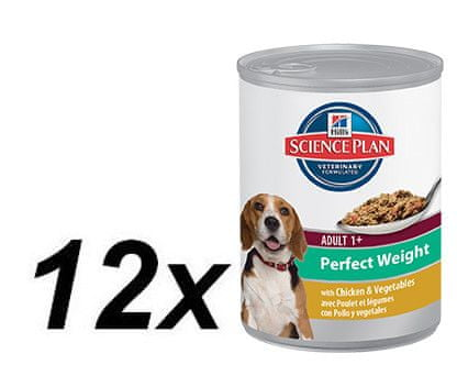 Hill's Canine Adult Perfect Weight - 12 x 363g
