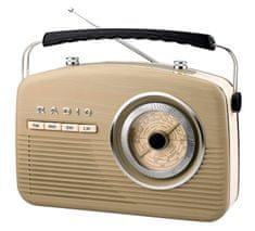 Camry prijenosni retro radio CR 1130