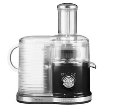 KitchenAid centrifugalni sokovnik KA5KVJ0333EOB, črn