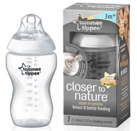 Tommee Tippee steklenička za novorojenčka, 340 ml