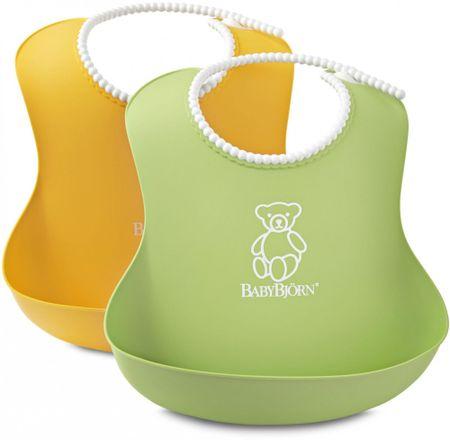 Babybjörn slinček Soft, 2 kos, rumen in zelen