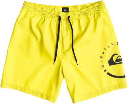 Quiksilver kratke hlače Eclipse Vl 17, moške, rumene, S