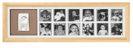 BabyArt moje prvo leto, fotografije in odtis, natur