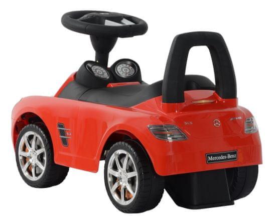 Buddy Toys Odrážedlo Mercedes-Benz SLS bílá BPC 5110